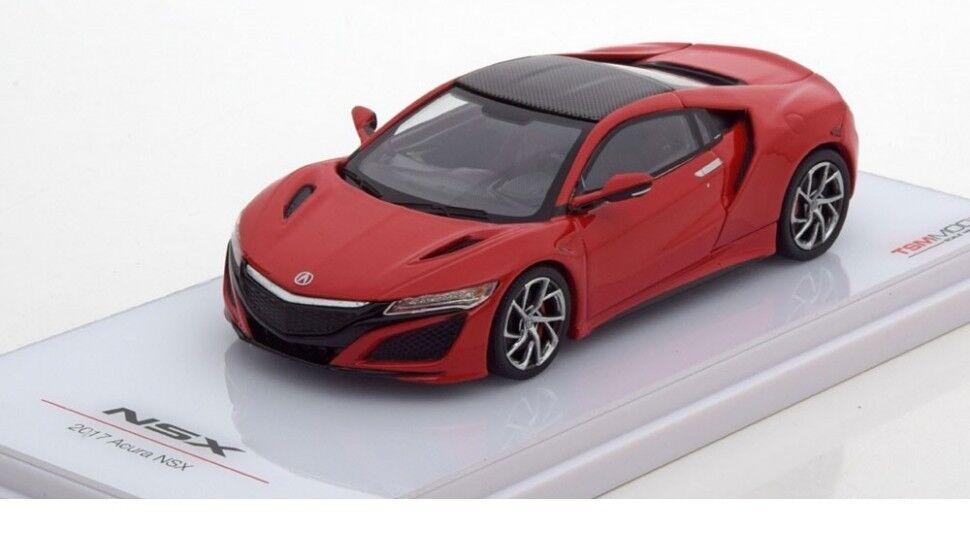 Tsm acura anderen 2017 rot über modell auto 1 43 tsm164386 echte neue Bestee geschenk