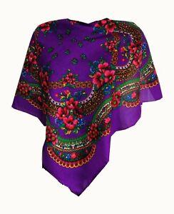 Stylish-small-Slavonic-Russian-scarf-shawl-folk-style-new-Winter-collection