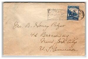 Germany-1935-Baden-Baden-Event-Cover-w-SC-461-Z13873