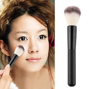 Women-Makeup-Cosmetic-Fiber-Powder-Foundation-Blush-Brush-Stipple-Tool-Black-V7