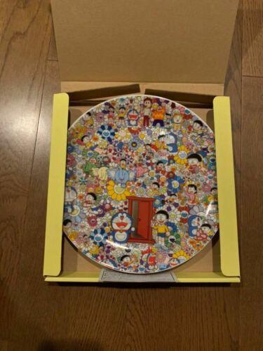 Doraemon x Takashi Murakami Plate Flower Doraemon Exhibitition Limited New JP