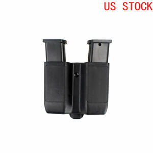 Single-Double-Stack-Dual-Magazine-Holster-Mag-Pouch-for-Colt-1911-9mm-To-45-Cal