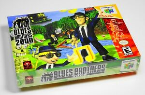 BLUES-BROTHERS-2000-Nintendo-64-N64-NEW-SEALED-UNCIRCULATED-CASE-FRESH-RARE