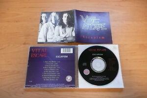 Details about @ CD VITAL ESCAPE - ESCAPISM / JAC MUSIC 1995 / AOR UK JACK  COOKE ADRIAN ROSE