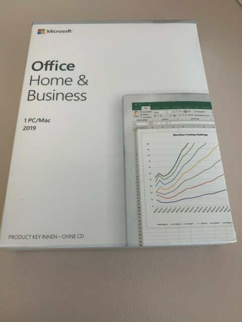 Microsoft Office 2019 Home & Business  (T5D-03210)