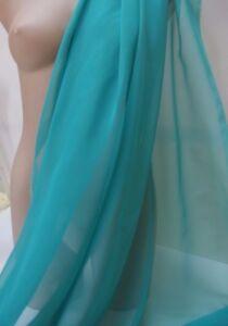 Jade-Green-Chiffon-Fabric-4-metres-112cm-Wide-Dress-Costumes-Dance-New