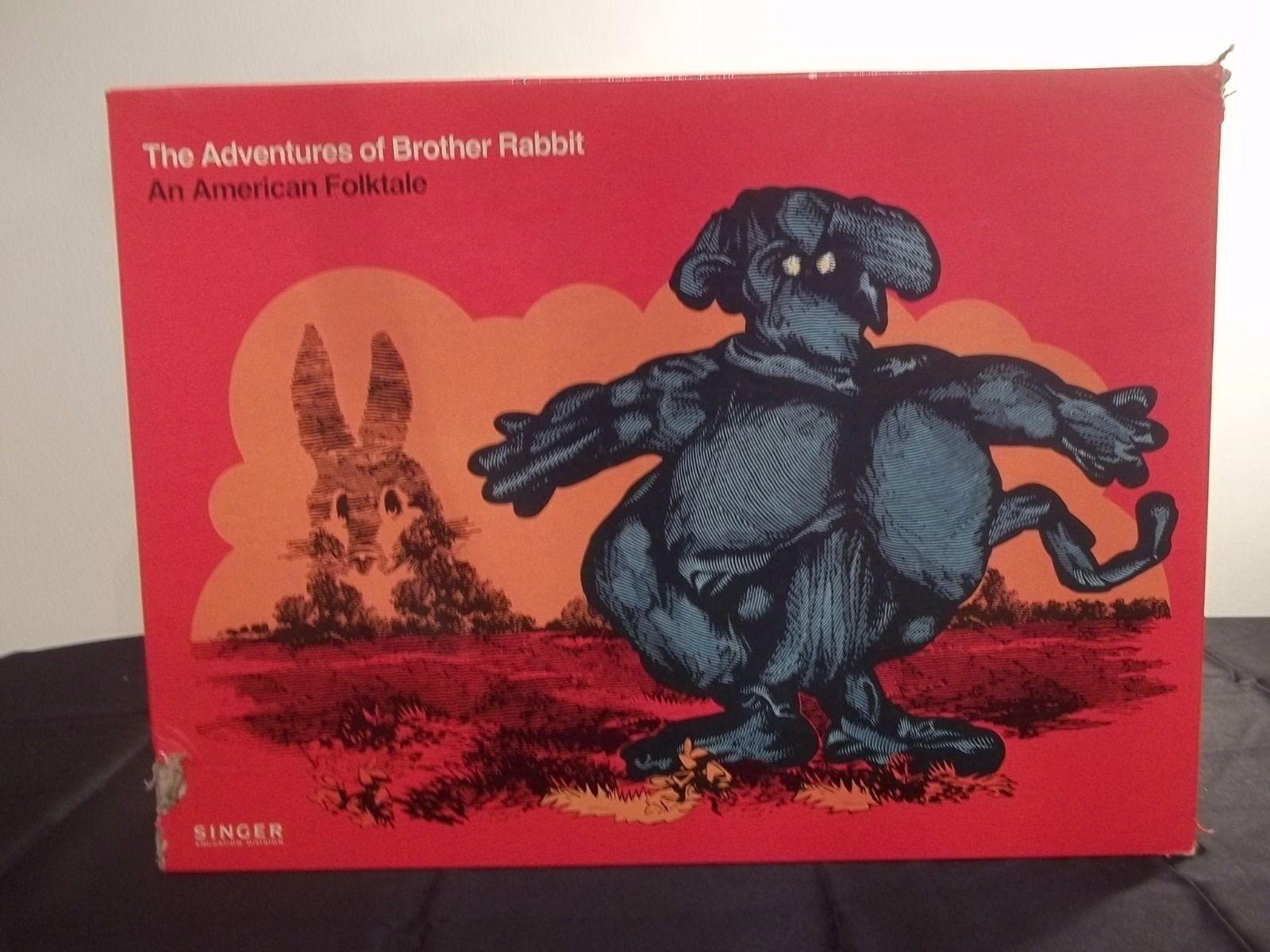 Disfruta de un 50% de descuento. Muy Raro 1975 Cantante De De De Aventuras De Hermano Conejo títeres conjunto de actividad + Cassette  connotación de lujo discreta