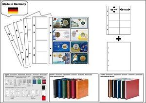 1-look-1-7404-W-Feuilles-Numismatiques-Premium-8x-93x56-mm-Blanc-Zwl-pour-Coin