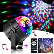 Disco Party Lights Strobe Led Dj Ball Sound Activated Bulb KTV Dance Lamp Decor