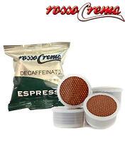 50 capsule RossoCrema Dek Espresso EP cialde compatibili Lavazza Espresso Point