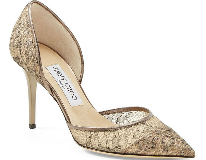Jimmy Choo Lacets Bout Pointu Pointu Pointu Addison D'Orsay 85Mm Escarpins 39.5 Sandales f0a2d2