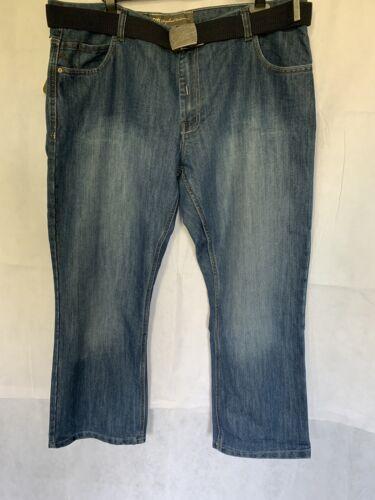Hommes RV8 Raphael Valencino Dark Wash Denim Grande Taille Jeans BNWT