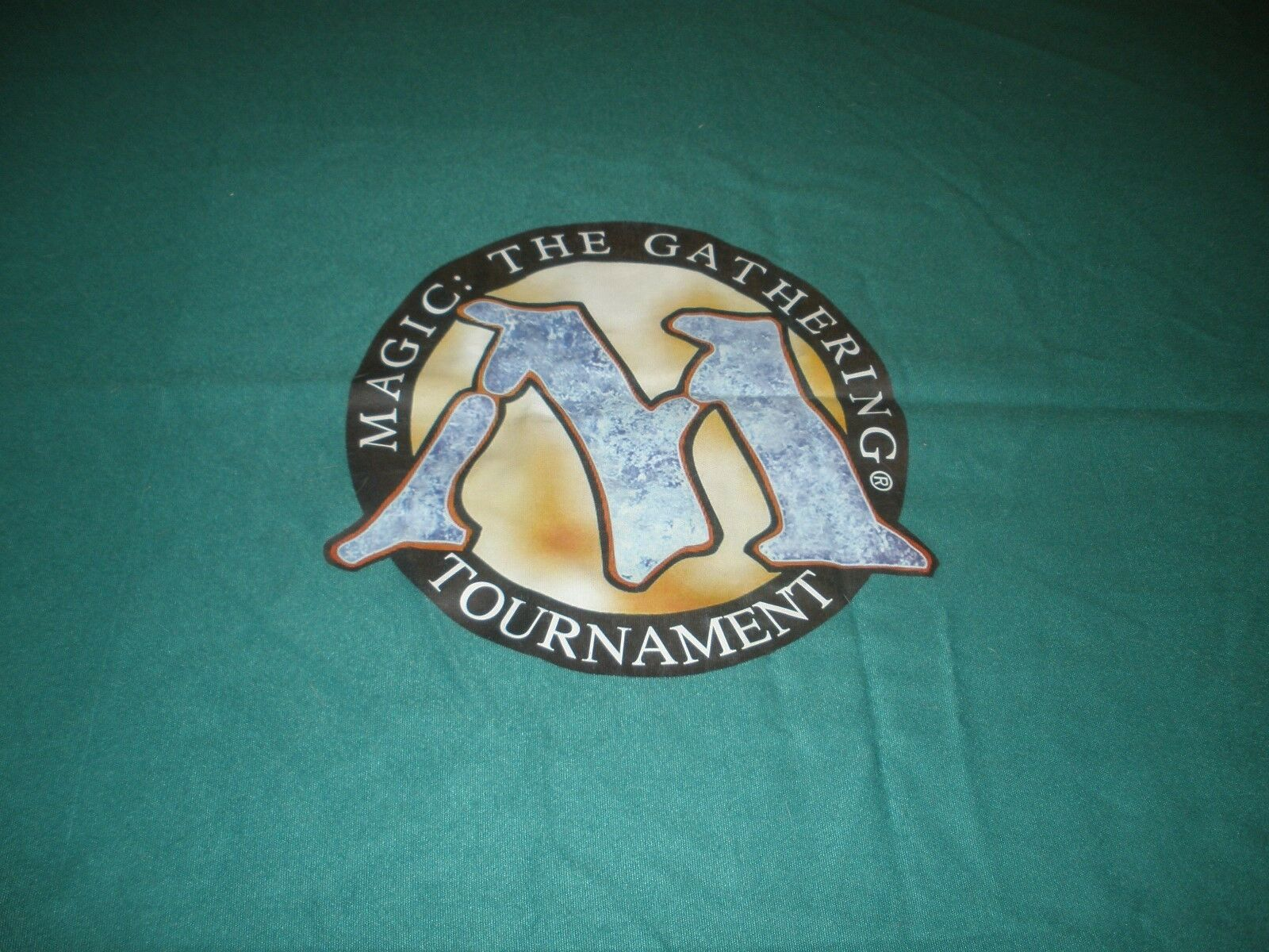 MTG Magic  The Gathering Tournament Table Cloth Cloth Cloth 4 x 10 Great Condition  24259a