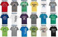 Aeropostale Men 2xl Appliquéd T Shirt Xxl Blue,grey,green,white,black,red