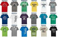 Aeropostale Men 2xl Appliquéd T Shirt Xxl Blue,grey,green,white,black,red