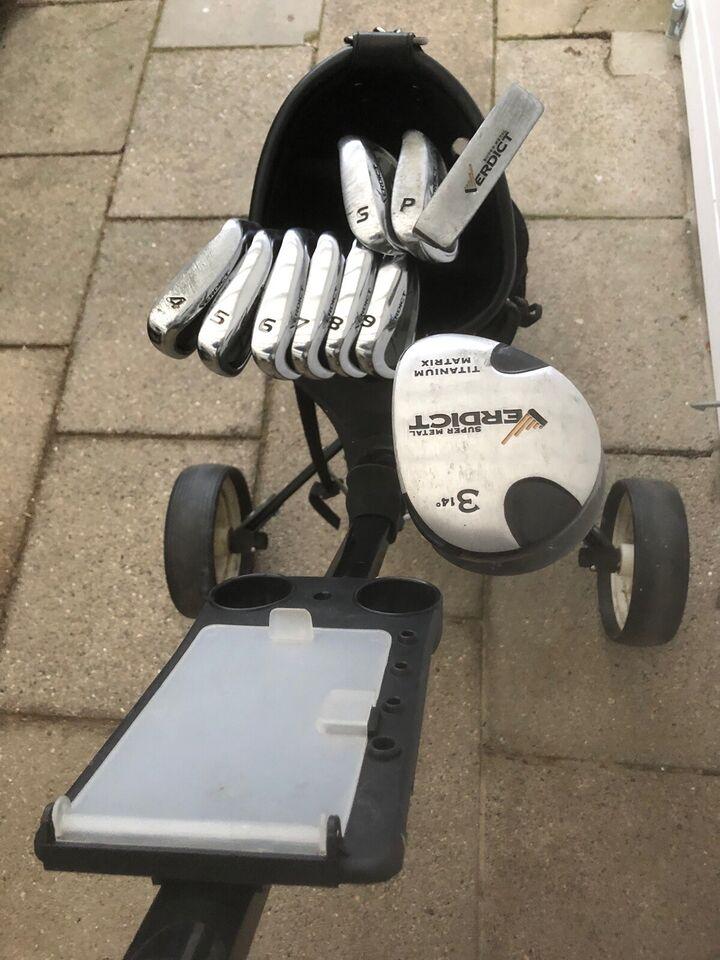 Dame golfsæt, stål, Verdict