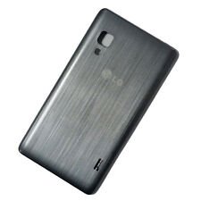 Genuine batteria originale copertura posteriore PORTA Si Adatta A LG Optimus l5 II e460-Grigio