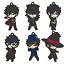 Persona 5 Dancing Starlight Ren Butler Suit Nendoroid Rubber Key Chain Mascot