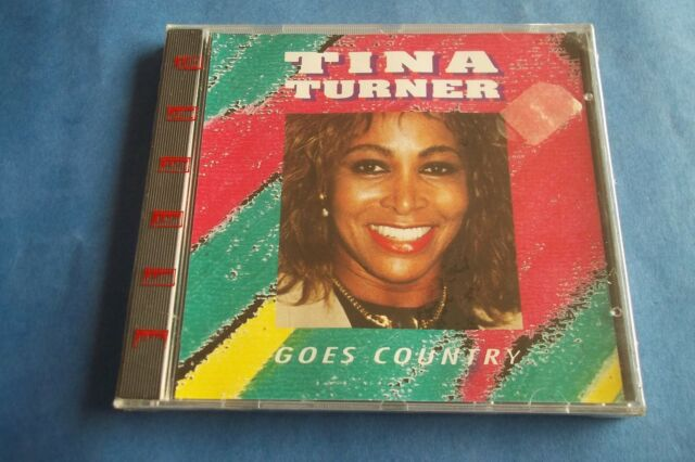 """TINA TURNER """" GOES COUNTRY """" CD 1992 BY TOP RECORDDS MADE IN ITALY SEALED"""