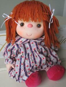 1980-Vintage-14-Ice-Cream-Doll-Adorable-Red-Hair