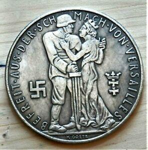 WW2-GERMAN-COMMEMORATIVE-REICHSMARK-COLLECTORS-COIN-1-IX-1939
