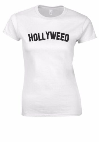 Hollywood Hollyweed Funny Sign Swag T-shirt Vest Tank Top Men Women Unisex 2537