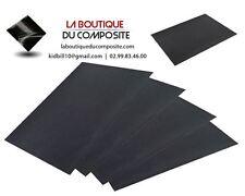 Lot de 4 FEUILLES D'ABRASIF A L'EAU haut de gamme, grain 1000, 1500, 2000, 2500.