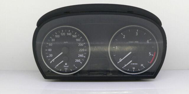 BMW 3 E90 E91 E92 E93 INSTRUMENT CLUSTER SPEEDOMETER GAUGE TACHO 9110215