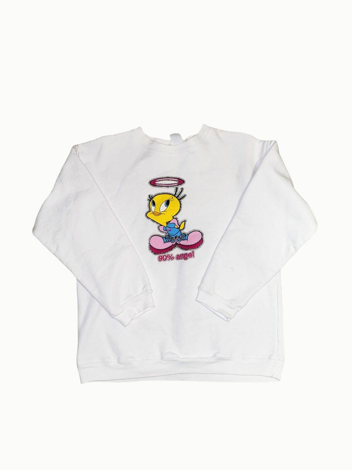S 90% Angel Tweety Bird Sweatshirt