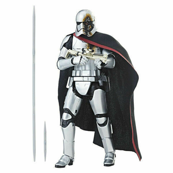 new in box Star Wars The Black Series capitaine Phasma