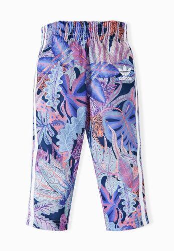 Adidas Originals Children Jungle Firebird Suit Set Girls Jacket Trousers Purple