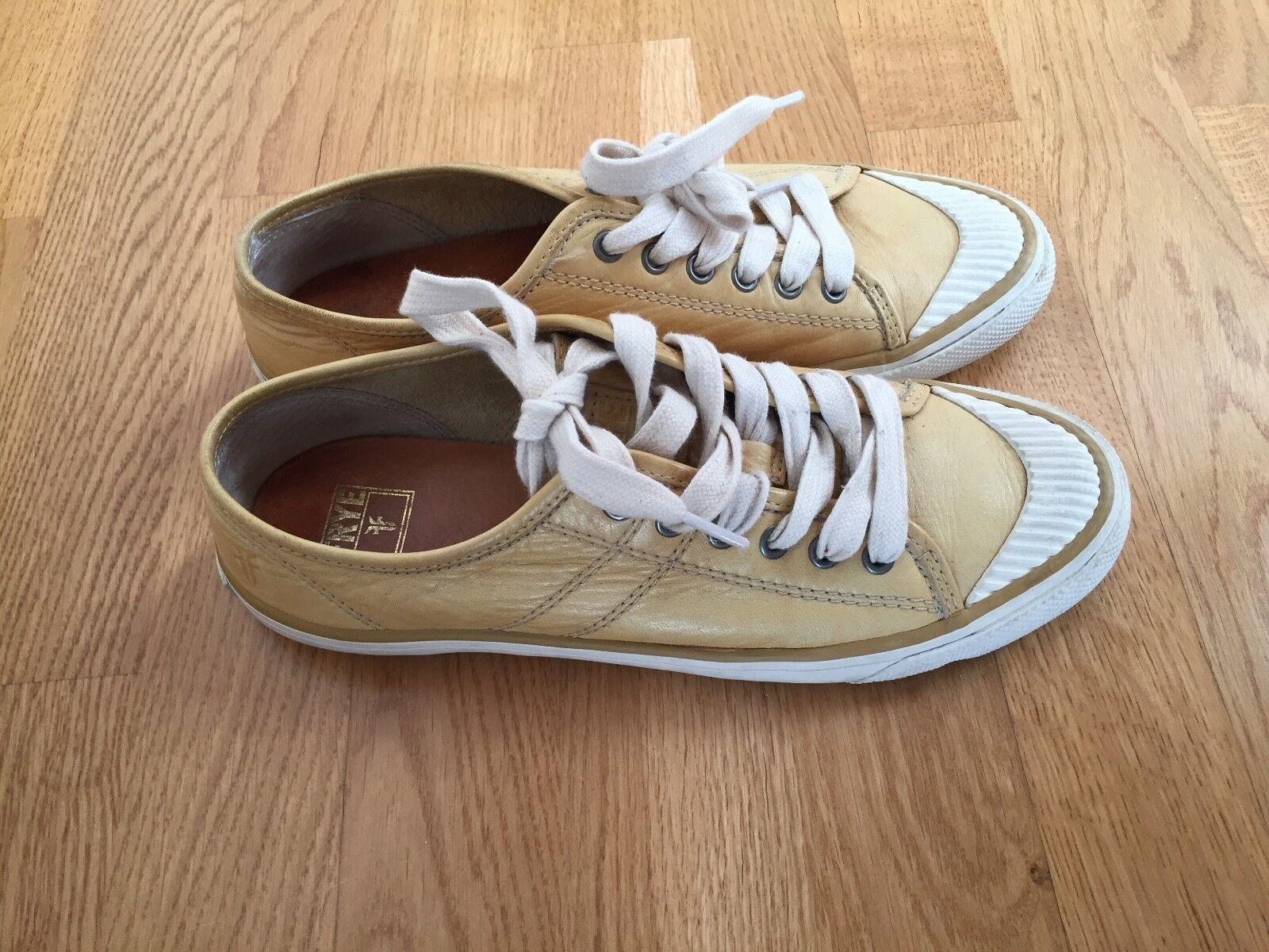 Frye Betty Low Lace Banana Scarpe shoes da Ginnastica / Flat shoes Scarpe Size 7 Yellow / Mustard 38911d