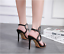 Fashion-Women-Peep-Toe-High-Heel-Strap-Buckle-Sandals-Stilettos-Party-Prom-Shoes thumbnail 3