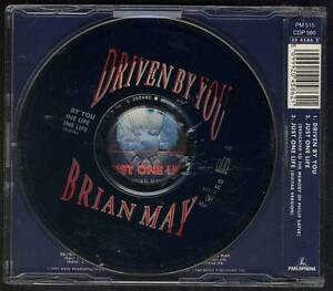 BRIAN-MAY-Driven-By-You-3-track-CD-MAXI-HOLLAND-QUEEN