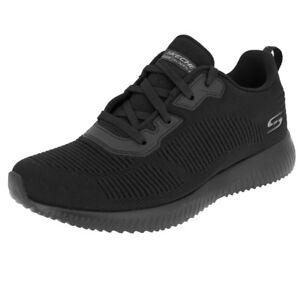 Taille Squad Skechers Noir Chaussures 36 Tough bbk Talk Bobs 32504 qwwXrnTEZx