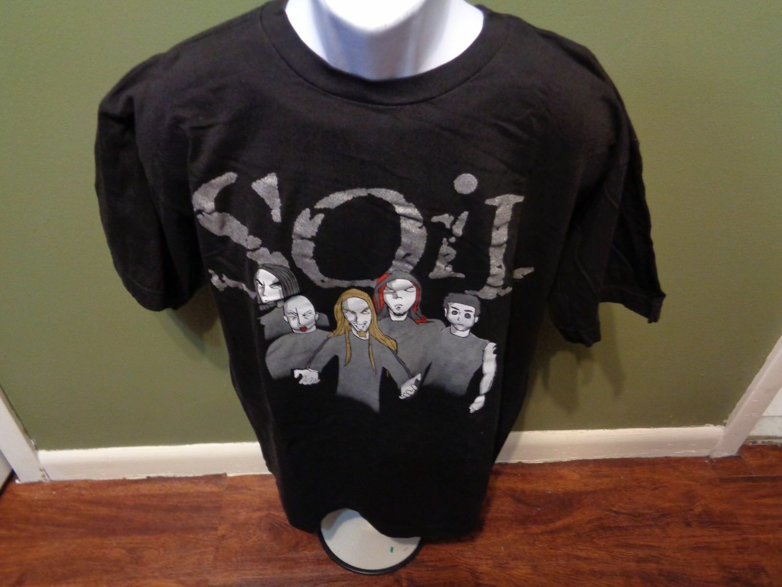 SOiL Scars T Shirt  2002 SIZE ADULT LARGE