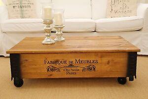 Tavolini Da Salotto Vintage.Tavolino Da Salotto Noce Legno Massiccia Shabby Chic Vintage