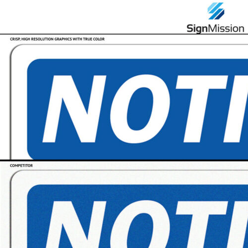 OSHA Danger Sign Not A StepHeavy Duty Sign or Label