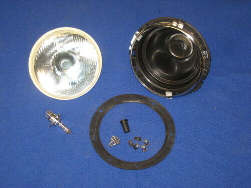 "FORD   **** PLASTIC 7/"" HEADLAMP BOWL ASSY INC HALOGEN LAMP C//B MG MINI TRIUMPH"