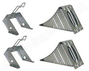 1 x ALKO Unterlegkeil Metall UK36 Hemmschuh AL-KO DIN76051