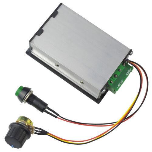 PWM 6V 12V 24V 48V Maxi 30A DC Motor Speed Governor Digital Display Controller