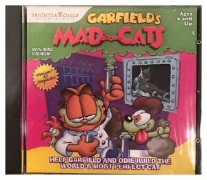 Details about Garfield's Mad About Cats Pc Mac Brand New XP