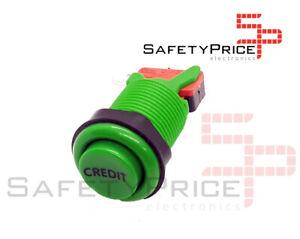 Pulsador-Arcade-concavo-Verde-CREDIT-Recreativa-Bartop-Joystick-28mm-33mm