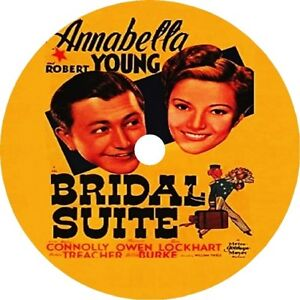 Bridal-Suite-Annabella-Robert-Young-Walter-Connolly-V-Rare-1939