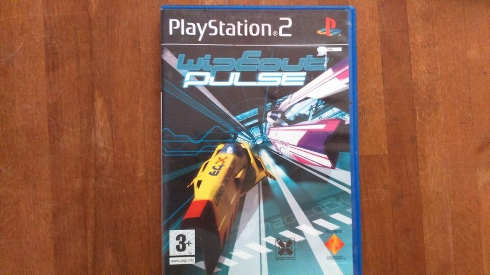 Wipeout Pulse, PS2, action