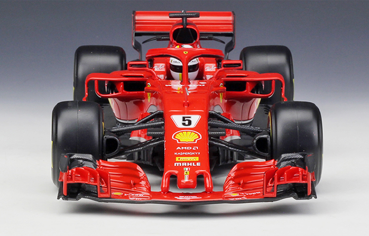 2018 2018 2018 Bburago 1 18 Ferrari F1 SF71H NO.5 Sebastian Vettel Metal Model Racing Car 87191d