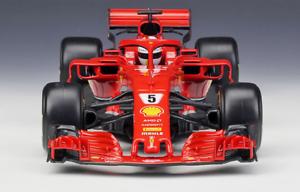 2018 Bburago 1 18 Ferrari F1 SF71H NO.5 Sebastian Vettel NO.7 Kimi Raikkon New