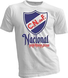 Club Nacional de Uruguay Futbol Football Soccer T Shirt Camiseta ... 4dca2063f6aaf
