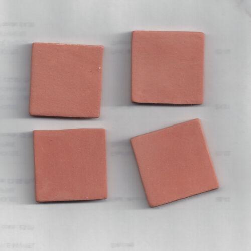 """3cm 3cm Escala 1//12TH Casa De Muñecas 12 baldosas de terracota 1.25/"""" X 1.25/"""""""