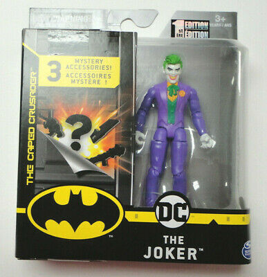 """The Caped Crusader DC The Joker 1st Edition 12/"""" Action Figure by Spin Master"""